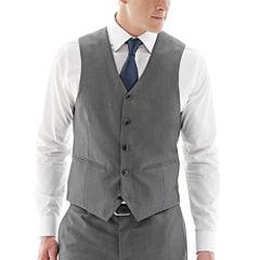 The Savile Row Company Gray Suit Vest - Slim