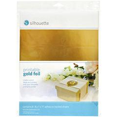 Silhouette Printable Foil Adhesive