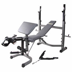 Body Flex Olympic Weight Bench