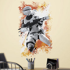 Star Wars 7 The Force Awakens Flametrooper Peel and Stick Wall Decal