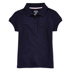 IZOD® Picot-Collar Polo - Preschool Girls 4-6x