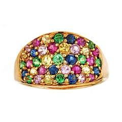 LIMITED QUANTITIES  Lead-Glass Filled Ruby 10K Yellow Gold Ring