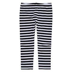Okie Dokie Stripe Knit Leggings - Toddler Girls