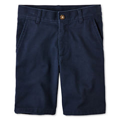 IZOD® Flat Front Twill Shorts - Boys Preschool Boys 4-7 Regular and Slim