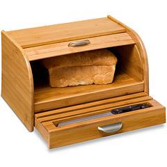 Honey-Can-Do® Bamboo Bread Box