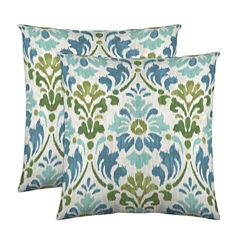Colorfly™ Sasha 2-Pack Square Decorative Pillows