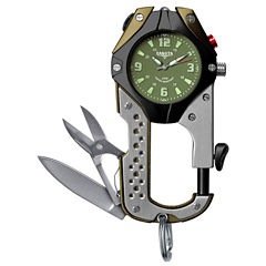 Dakota Men's Green Knife Clip Watch 87630