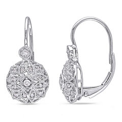 1/8 CT. T.W. White Diamond 14K Ear Cuffs