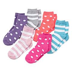 Okie Dokie 6-pc. Low Cut Socks