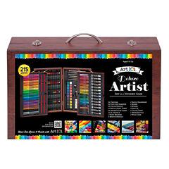 215-Pc. Art 101 Mixed Media Art Set