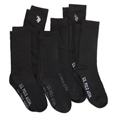 U.S. Polo Assn.® Assorted 6-pk. Crew Socks - Boys