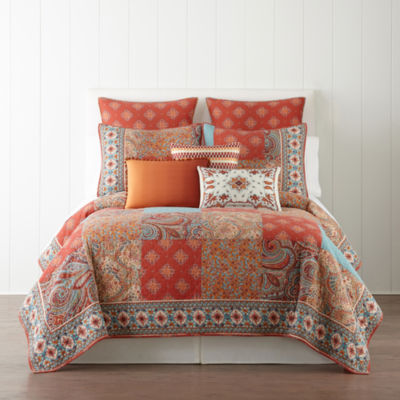 jcpenney home morocco quilt u0026 accessories - Twin Quilts