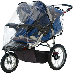 InStep® Deluxe WeatherShield for Double Swivel Wheel Stroller