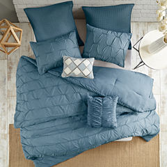 Urban Habitat Cullen Elastic Embroidery 7-pc. Comforter Set