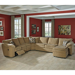 Signature Design by Ashley® Coats 3-pc. Reclining Loveseat Sectional