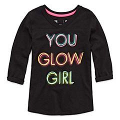 Xersion 3/4 Sleeve Graphic Tee - Girls Preschool