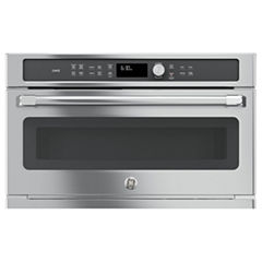 GE Café™ Series 1.7 cu. ft. Built-In Microwave Convection Oven