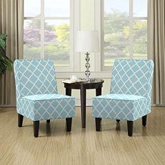 Brodee Slipper Chair Set