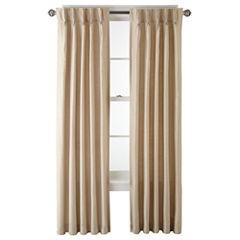 Royal Velvet® Supreme Pinch-Pleat/Back-Tab Thermal Window Treatments