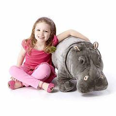 Melissa & Doug® Hippopotamus - Plush
