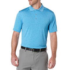 PGA TOUR Short Sleeve Jersey Polo Shirt