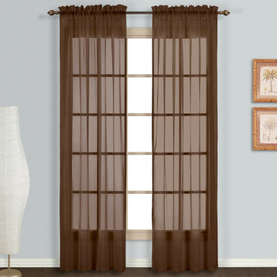 united curtain co monte carlo rodpocket 2pack curtain panels