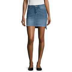 Arizona High Low Hem Skirts-Juniors
