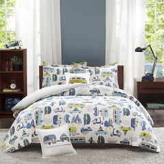 INK+IVY Road Trip Comforter Set