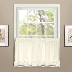 United Curtain Co. Vienna Rod-Pocket Window Tiers