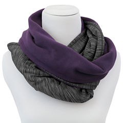 Cuddl Duds Reversible Super Cozy and Ultra Soft Infinity Scarf