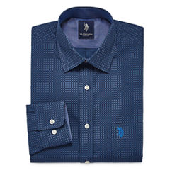 U.S. Polo Assn.Slim Fit Easy-Care Long Sleeve Dress Shirt