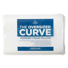 JCPenney Home The Curve Standard Contour Pillow