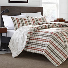 Eddie Bauer® Point Permit Plaid Duvet - Sham Set