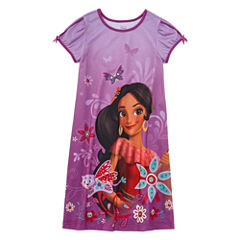 Disney Short Sleeve Elena of Avalor Nightshirt-Big Kid Girls