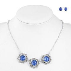 Monet Jewelry Womens 2-pc. Blue Jewelry Set