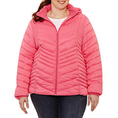 Xersion Lightweight Packable Puffer Jacket