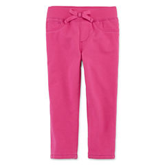 Arizona Pinkwash Denim Pants - Baby Girls 3m-24m