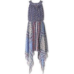 Speechless Sleeveless Pattern Maxi Dress - Big Kid Girls Plus