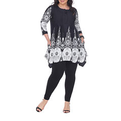 White Mark Dulce Tunic Top Plus