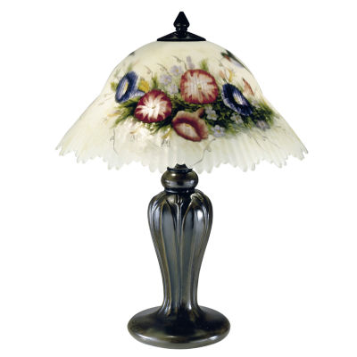Dale Tiffany™ Hummingbird/Flower Table Lamp