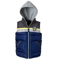 Colorblock Vest with Hood - Boys Preschool