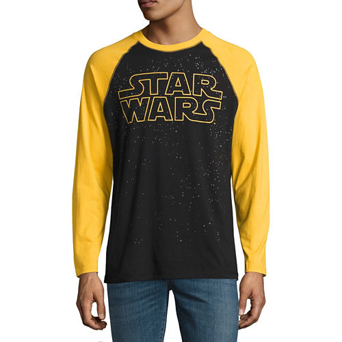 Long Sleeve Star Wars Tv   Movies Graphic T-Shirt