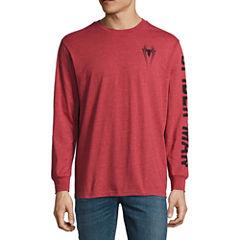 Novelty Season Long Sleeve Spiderman Graphic T-Shirt