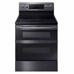 Samsung 5.9 cu. ft. Electric Flex Duo™ Range with Soft Close and Dual Door