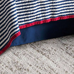 Hiend Accents Canvas Bed Skirt