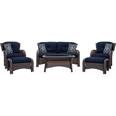 Hanover Strathmere 6-pc. Conversation Set