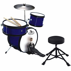 5 Piece Junior Professional Drum Set