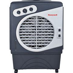 Honeywell 1540 CFM Indoor/Outdoor Evaporative AirCooler (Swamp Cooler) with Mechanical Controls inGray/White