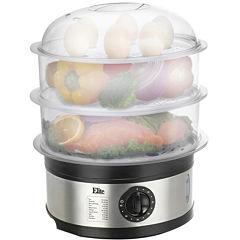 Elite Platinum EST-2301 3 Tier 8.5 Quart Food Steamer