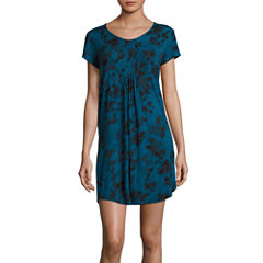 Ambrielle Jersey Short Sleeve Nightshirt